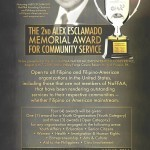 NaFFAA calls for nominees to the Alex Esclamado Memorial Award for Community Service