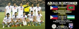 Azkals hard in practice; game vs Uzbekistan Sept. 8