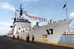 Arrival of BRP Andres Bonifacio, a symbol of PHL commitment to modernize its military
