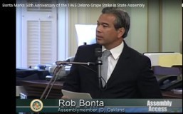 Bonta commemorates the 50th anniversary of the Delano Grape Strike