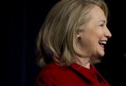 Hillary Clinton says 'not there yet' on women's equality