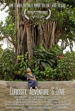 "Curiosity Adventure & Love poster - ""Curiosity, Adventure & Love"" tells the remarkable story of Jessie Lichauco, a Cuban-born American who settled in the Philippines after marrying Filipino diplomat and lawyer Marcial Lichauco in the early 1930s."