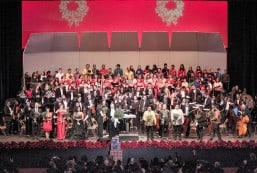 Choir, Fil-Am orchestra Christmas concert Dec. 9  Experience the thrill of a 200-strong choir singing carols with 60-member Fil-Am orchestra in Arcadia