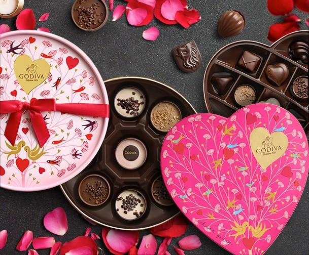 The Godiva Valentine S Day Collection The Us Asian Post