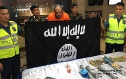 Suspected ISIS member, Filipina partner nabbed in Manila