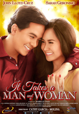 (It Takes A Man and A Woman Official movie poster)