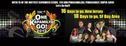 California, New Jersey brace for the biggest  One Kapamilya Go on October 18 & 20