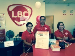 LBC Carson branch employees eagerly await customers at their newly opened branch.