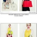 Michelle Williams returns in new Louis Vuitton campaign