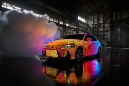 Lexus unveils led-covered LIT IS with Premiere of Dua Lipa's 'Be the One' Music Video  Luxury automaker makes bold IS sports sedan even more expressive with custom design