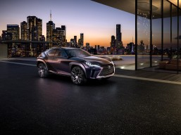 World premiere of Lexus UX Concept