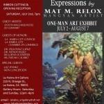 Mangyan artist holds one-man art exhibit in La Habra