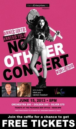 Get free tickets to see Anne Curtis: No Other Concert at the Pechanga Theater