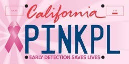 Gov. Brown urges Californians to order pink ribbon license plates to kick off Breast Cancer Awareness Month