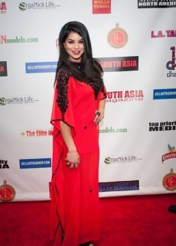 Rima Fakih Miss USA 2010 on red carpet (Photo by Teofie S. Decierdo at VTM Photography)