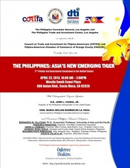 The Philippines: Asia's New Emerging Tiger
