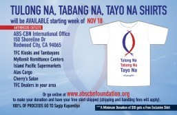 TFC-ABS-CBN International Sagip Kapamilya Typhoon Yolanda – U.S. & Canada – EXTENDED