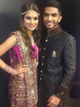 Seepaj Dhaliwal and Rajan Sra Mr & Miss India North America 2014 (Photo by Teofie S. Decierdo at VTM Photography)