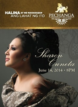 Philippine 'Megastar' Sharon Cuneta Live at Pechanga Theater on June 14