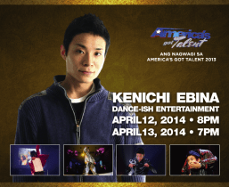 """America's Got Talent"" 2013 Winner Kenichi Ebina Performing Live At Pechanga This April"