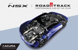 Acura NSX named Road & Track 2017 Performance Car of the Year