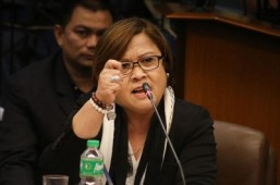 De Lima downplays House leaders' complaints as 'an attempt to save face'