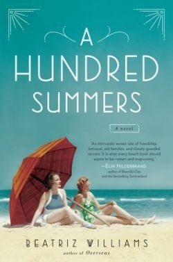 Top of the seasonal pile: 'A Hundred Summers,' 'Lexicon,' more