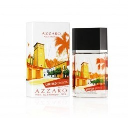 The Summer 2014 Limited Edition of Azzaro Pour Homme features a design by Takeshi. ©Azzaro