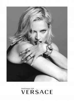 Madonna for Versace Spring/Summer 2015 ©Versace