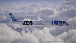 R2-D2 plane to spirit Star Wars fans far, far away
