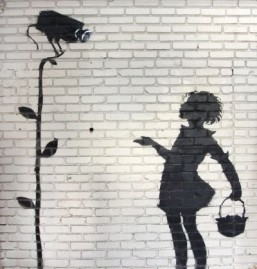 Banksy graffiti offered at US auction: auction house