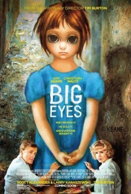 Amy Adams and Christoph Waltz pose under 'Big Eyes' in new poster