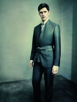 Brioni Fall-Winter 2014 campaign draws on Japanese-inspired design details
