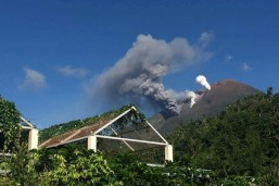 Mt. Bulusan explodes anew, its second in one month