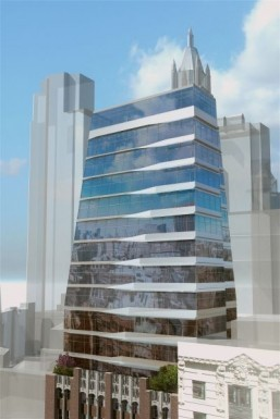 17John will combine two architectural styles with the addition of the glass tower ©Courtesy of The Prodigy Network