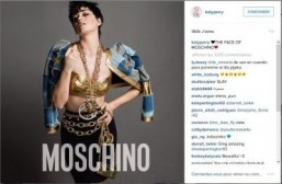 Katy Perry is face of Moschino