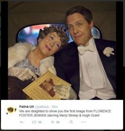 First image of Meryl Streep and Hugh Grant in 'Florence Foster Jenkins'