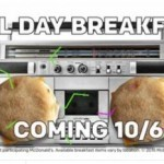Save the date: McDonald's all-day breakfast coming October 6