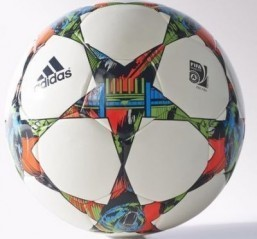 Adidas launches ball for UEFA Champions League finale