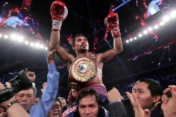 Pacquiao victory lifts spirits of typhoon-ravaged PHL