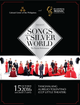 KMF scholars, Gerphil Flores to hold a classical concert on Oct. 15 at CCP