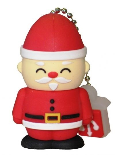 Maxell's Santa Claus USB drive sells from €9.90 (around $13). ©Maxell