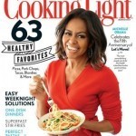 First Lady of food Michelle Obama graces cover of 'Cooking Light' magazine