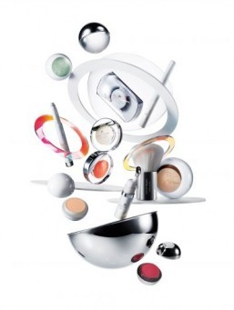 Courrèges x Estée Lauder's pop-timistic cosmetics line on sale this month