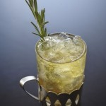 Echo rosemary turkey with rosemary-scented cocktail
