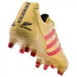 Adidas unveils 'golden' Dan Carter rugby boots