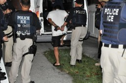 "In 2012, Enforcement and Removal Operations officers, with assistance from federal, state and local counterparts, arrested more than 3,100 convicted criminal aliens and immigration fugitives during a six-day nationwide ""Cross Check"" enforcement operation. The New York Times said it found that only 20 percent of the two million people deported since Obama took office in January 2009 were involved in major crimes like drug trafficking."