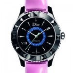 Dior combines sapphires and metallic leather in latest couture-inspired watch