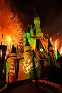 Walt Disney World at Halloween ©Gene Duncan/Disney