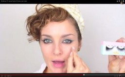 Beauty tutorials: colored eyeliner